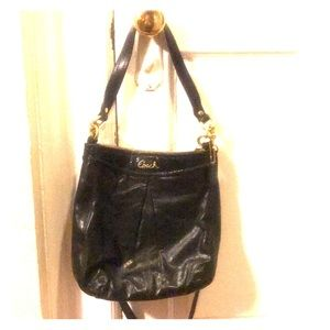 Coach Bag (black and gold)